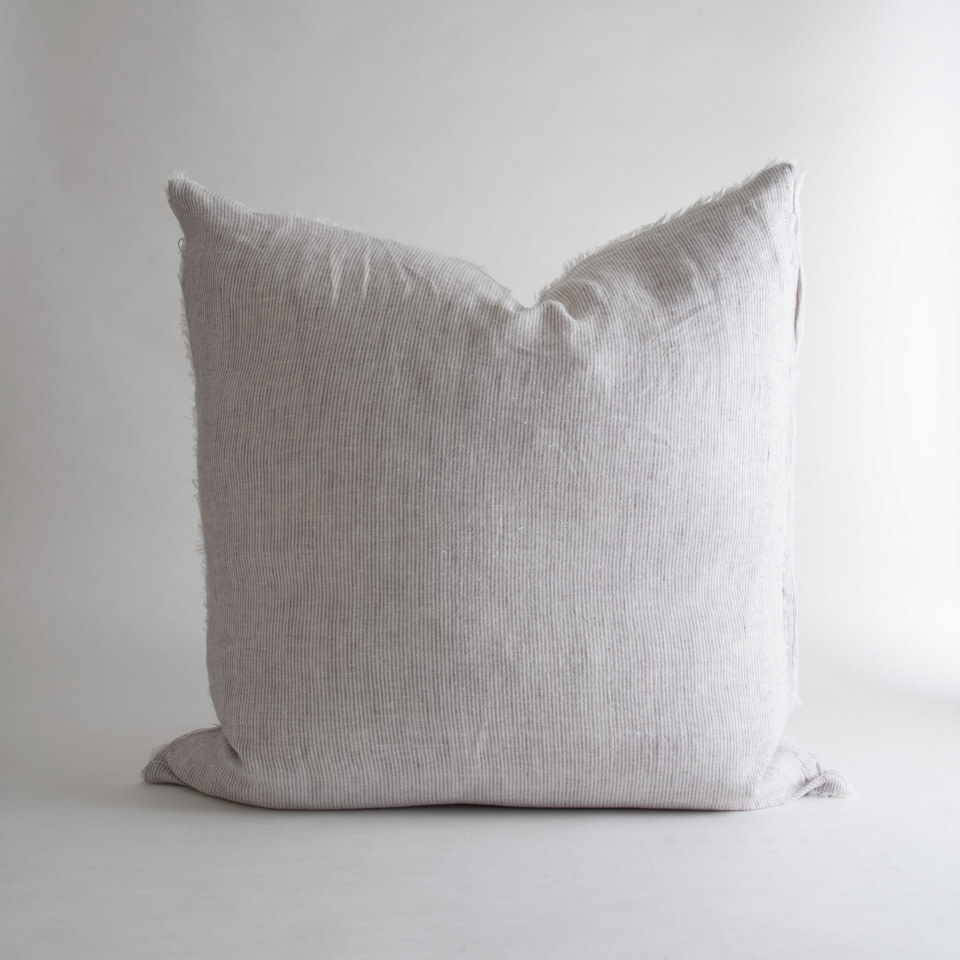 Lina Linen Pillow Stripe
