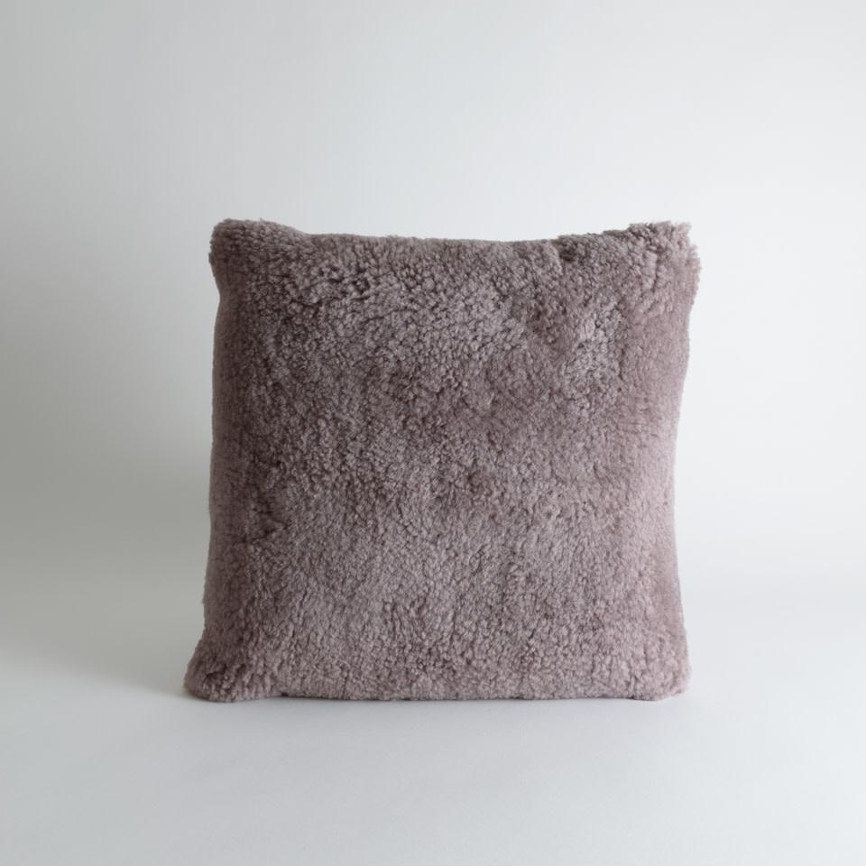 "New Zealand Lamb Heather 16"" Pillow"