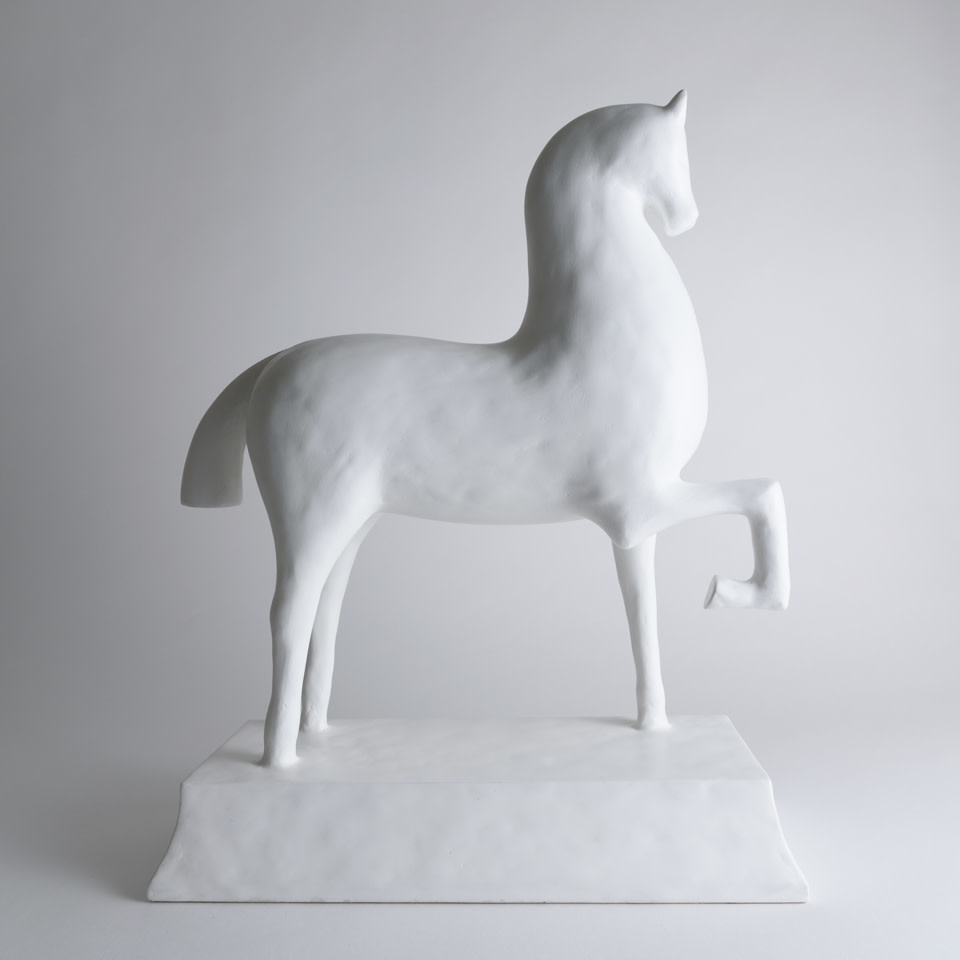 Gesso Troy Horse