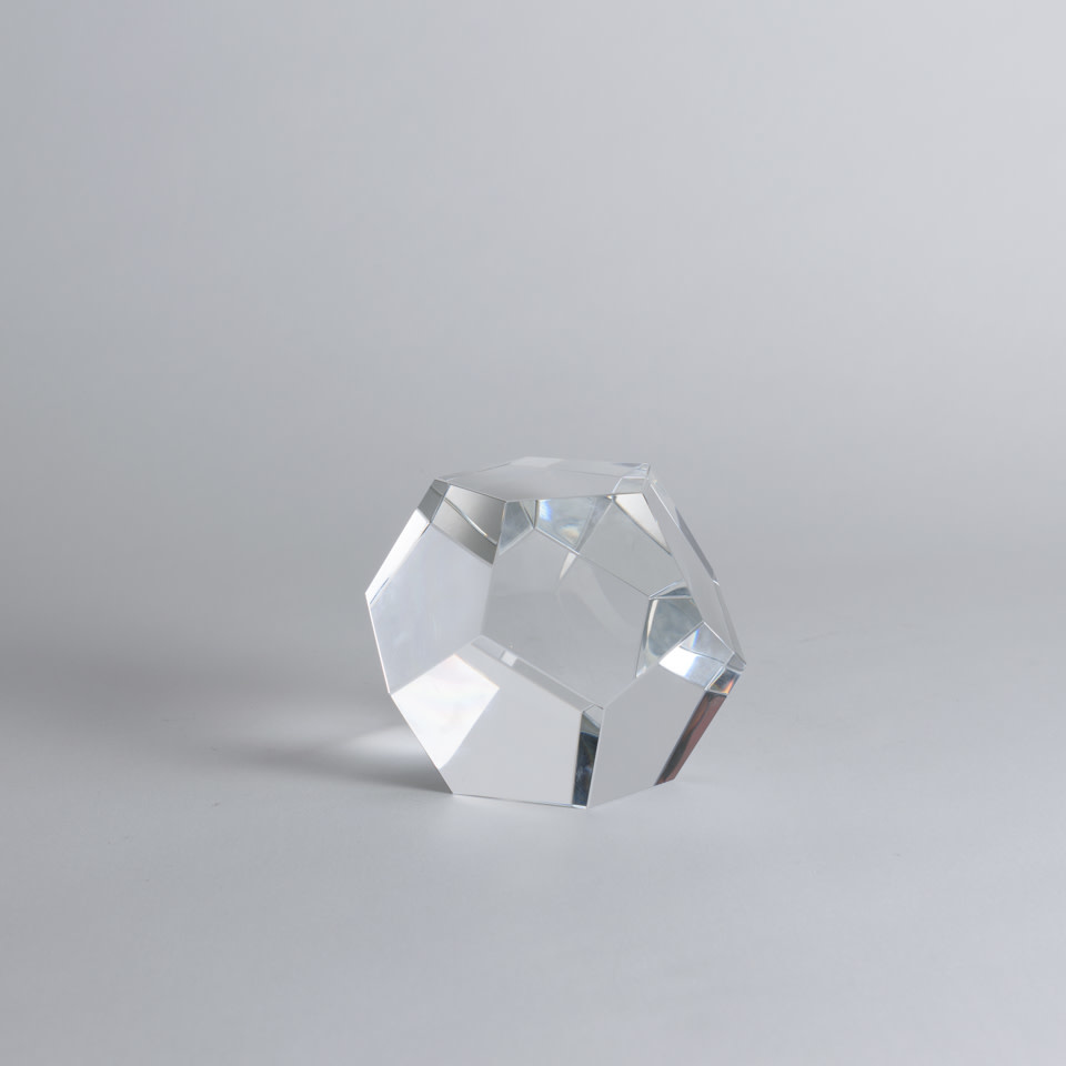 Crystal Dodechahedron Small