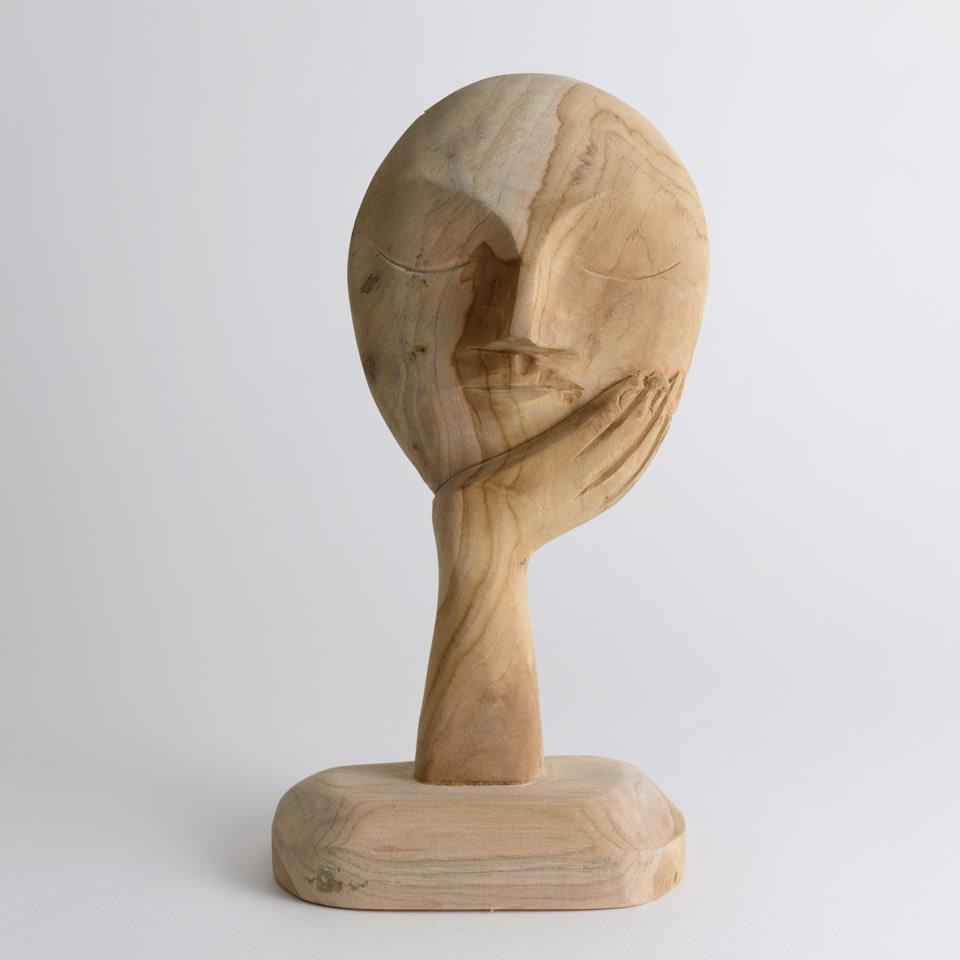 Respite Teak Sculpture