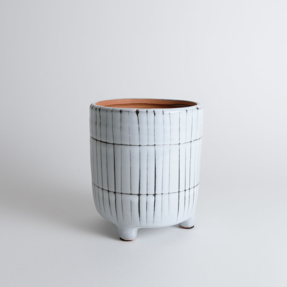 """Makena 5"""" Footed Planter"""