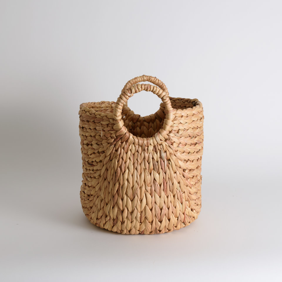 Seagrass Baskets with Round Handles