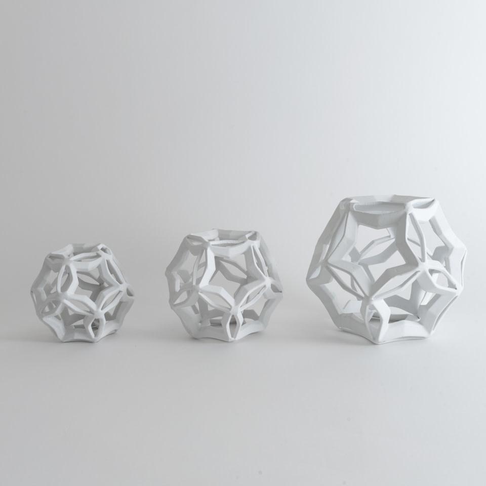 Geometric Star (White)