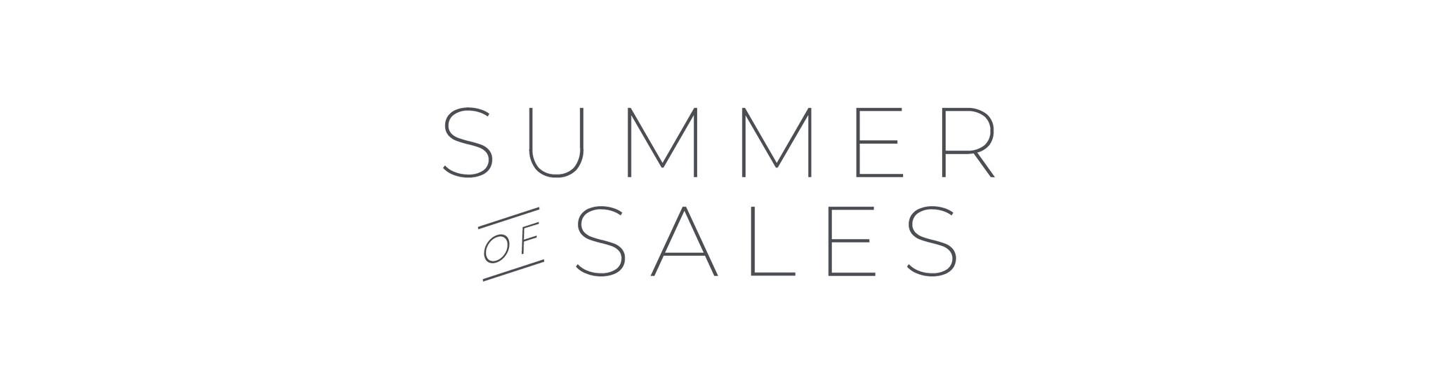 Summer of Sales