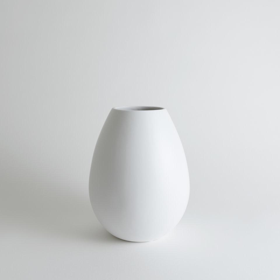 Chloe White Vase