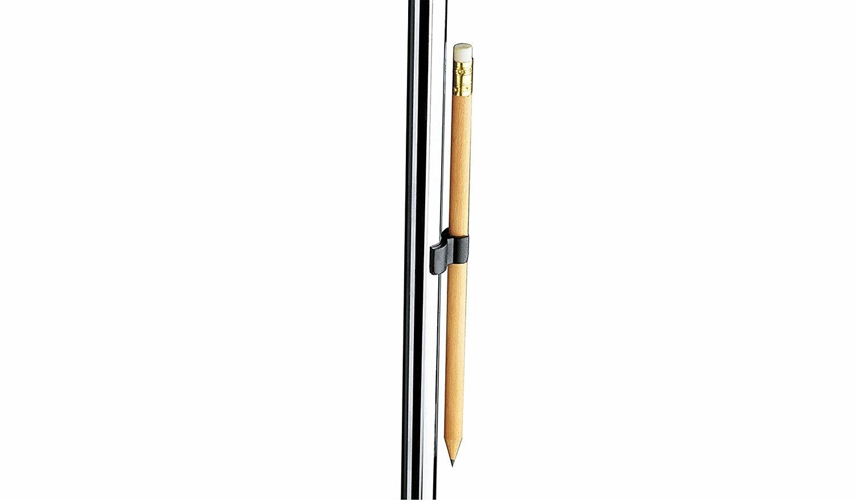 K&M Medium Music Stand Pencil Clip 20-22mm
