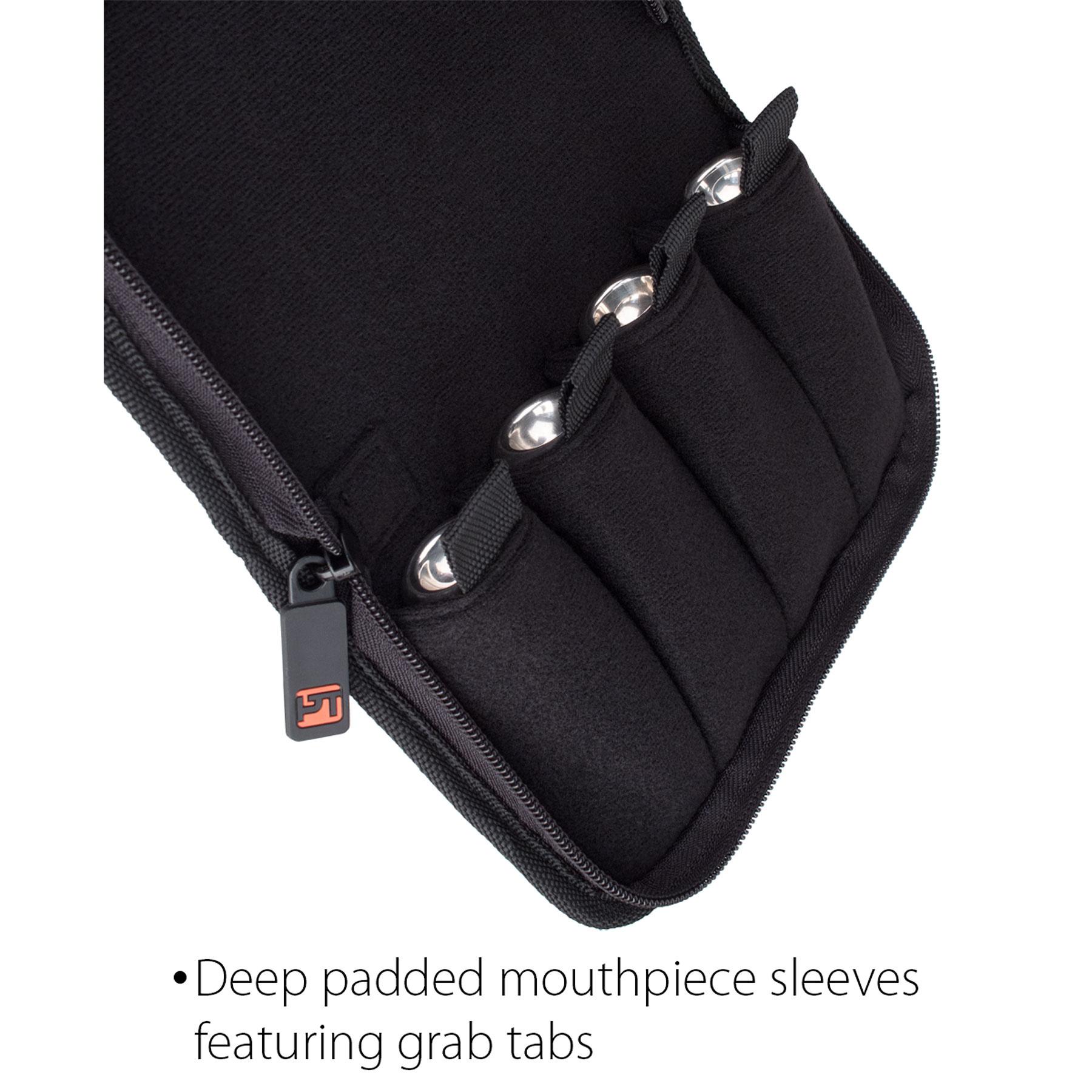 Protec Protec Trumpet Nylon Mouthpiece Pouch - 4 Piece