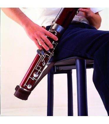 BG BG Leather Bassoon Seat Strap w/ Adjustable Cap