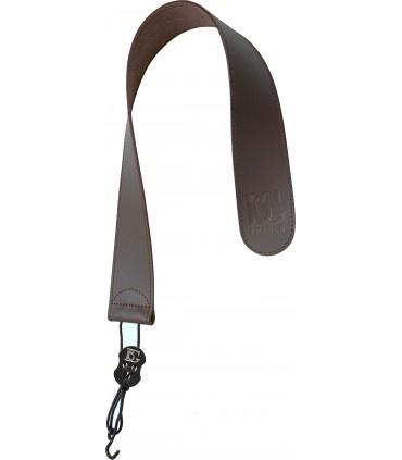 BG BG Leather Bassoon Seat Strap Metal Hook