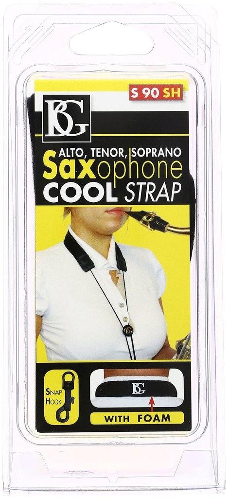 BG France Sax Cool Strap - Snap hook