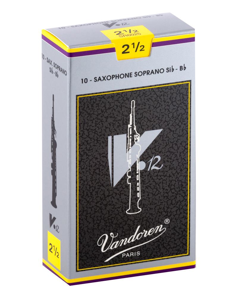 Vandoren V12 Soprano Sax Reeds