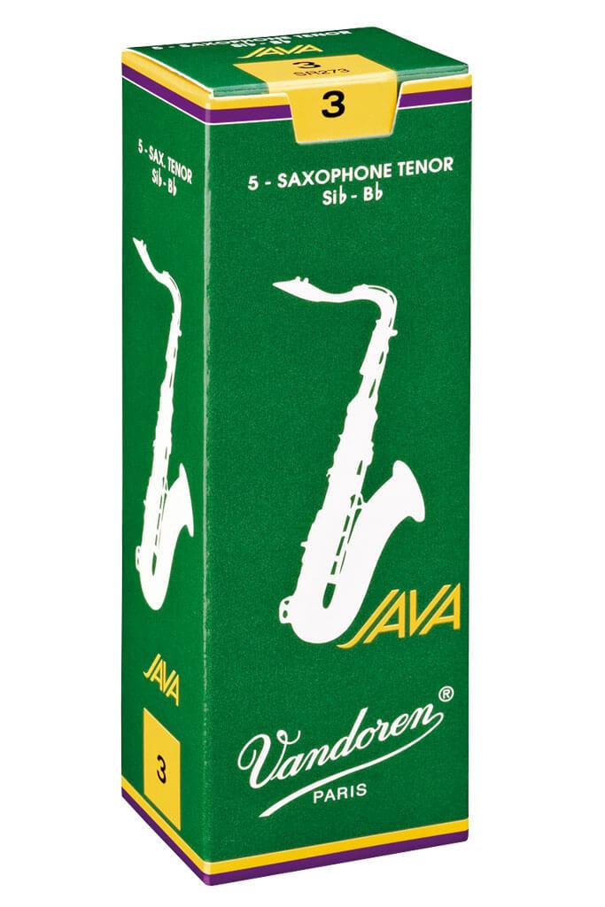 Vandoren Vandoren Java Green Tenor Sax Reeds (box of 5)