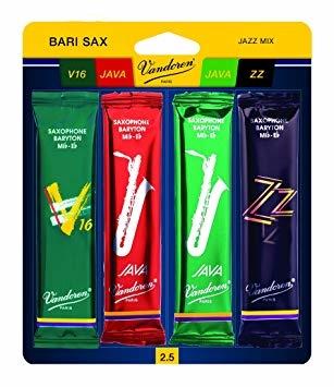Vandoren Jazz Mix for Baritone Saxophone