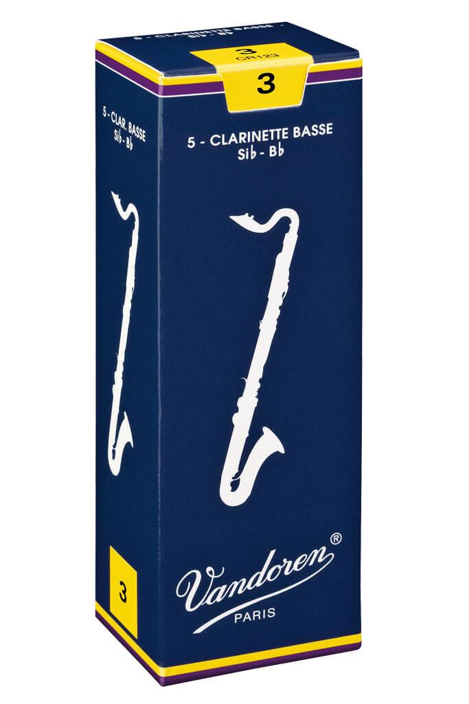 Vandoren Vandoren Traditional Bass Clarinet Reeds