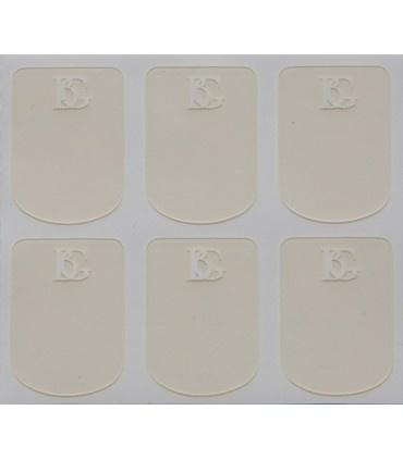 BG BG Mouthpiece Cushions 0.4mm Thick (Clear)