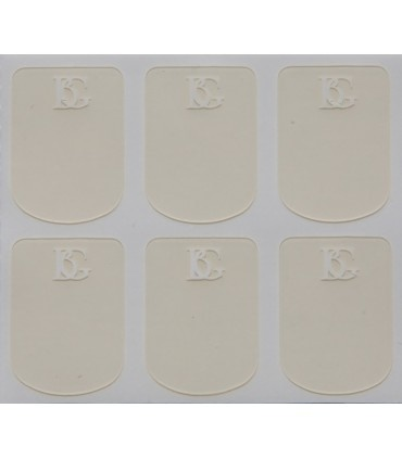 BG France BG Mouthpiece Cushions 0.4mm Thick (Clear)