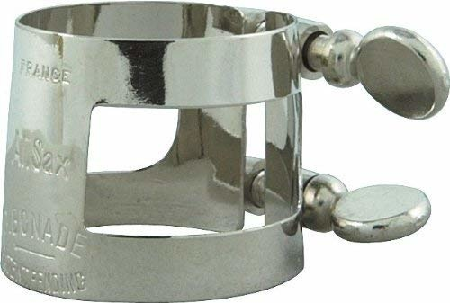 Bonade Bonade Alto Sax Inverted Nickel-silver Ligature
