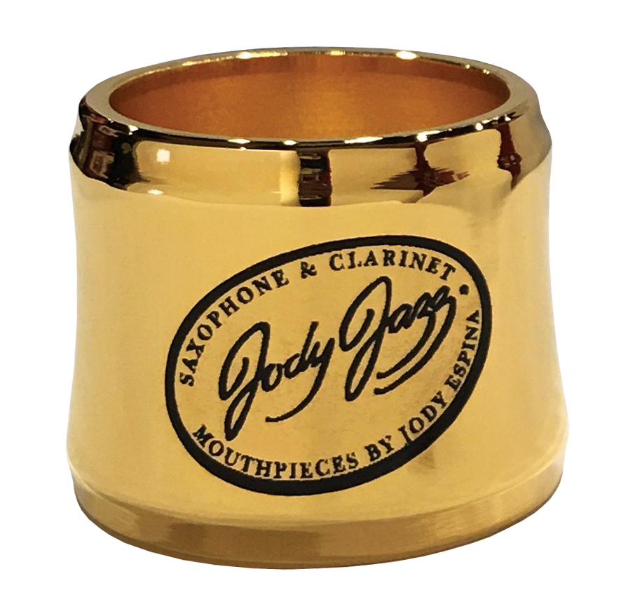 JodyJazz JodyJazz Gold Bari Sax Power Ring Ligature for HR* mouthpiece