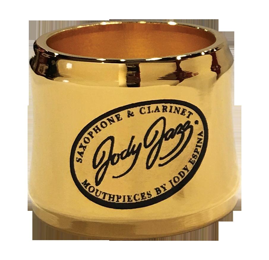 JodyJazz JodyJazz Gold Bari Sax Power Ring Ligature for Metal mouthpiece