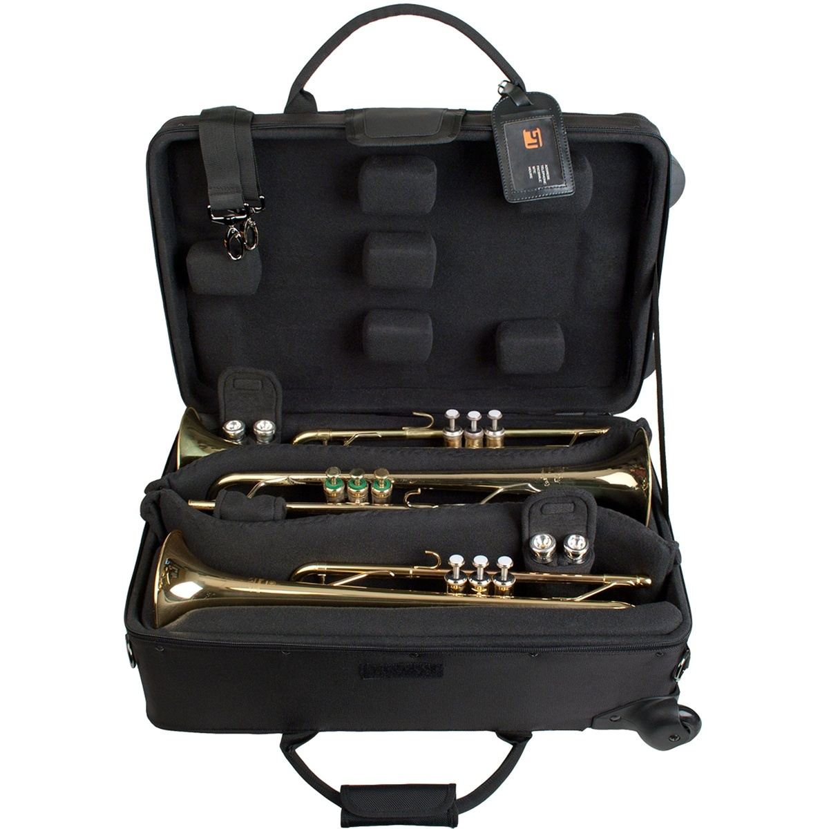 Protec Protec IPAC Triple Trumpet Case with Wheels