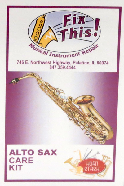 Fix This! Fix This! Alto Sax Care Kit