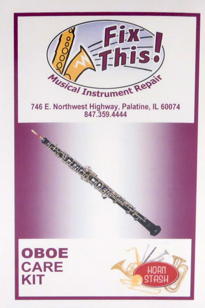Fix This! Fix This! Oboe Care Kit