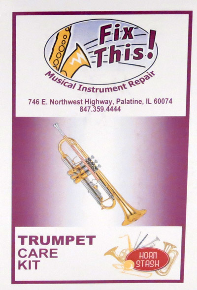 Fix This! Fix This! Trumpet Care Kit  (Lacquer)
