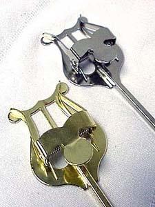 APM Trumpet Lyre - bent to shape