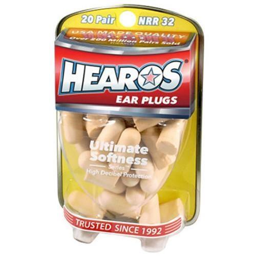 Hearos Hearos Ear Plugs - 6 Pair