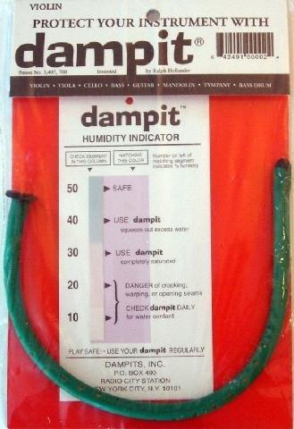 Dampit Violin/Oboe Humidifier