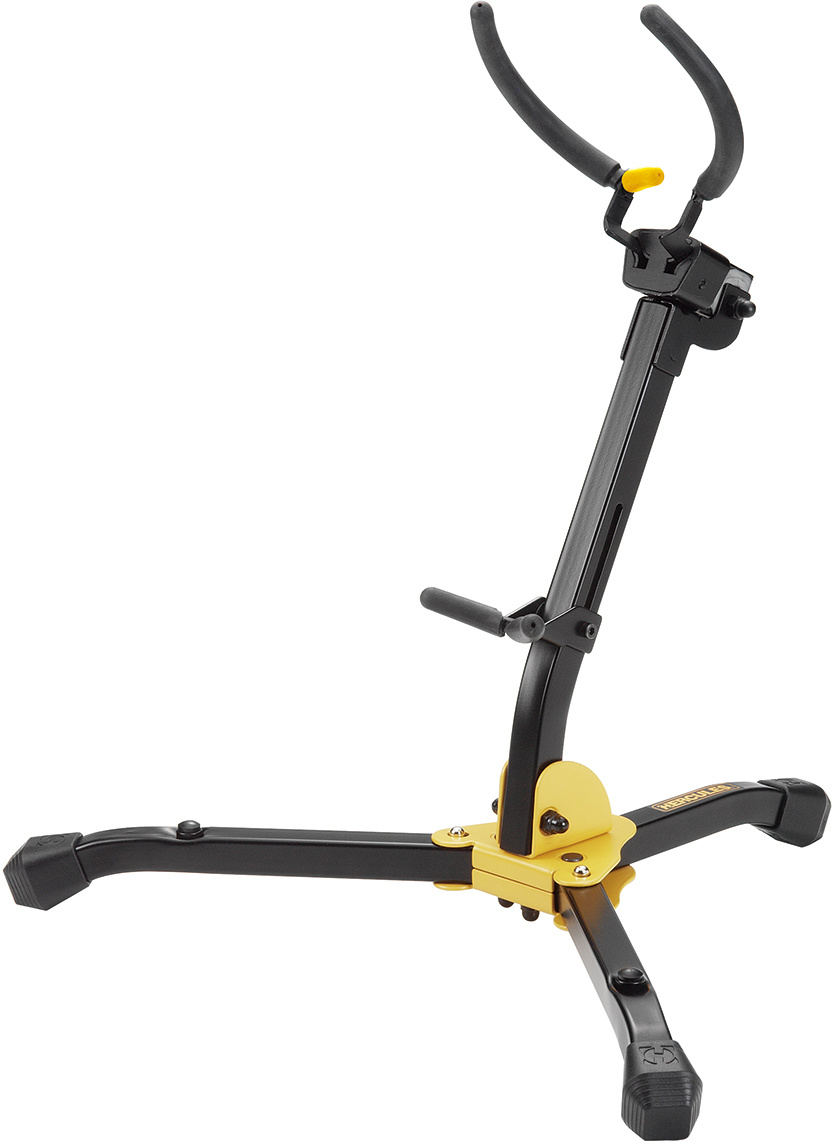 Hercules Auto Grip System (AGS) Alto/Tenor Saxophone Stand with Bag