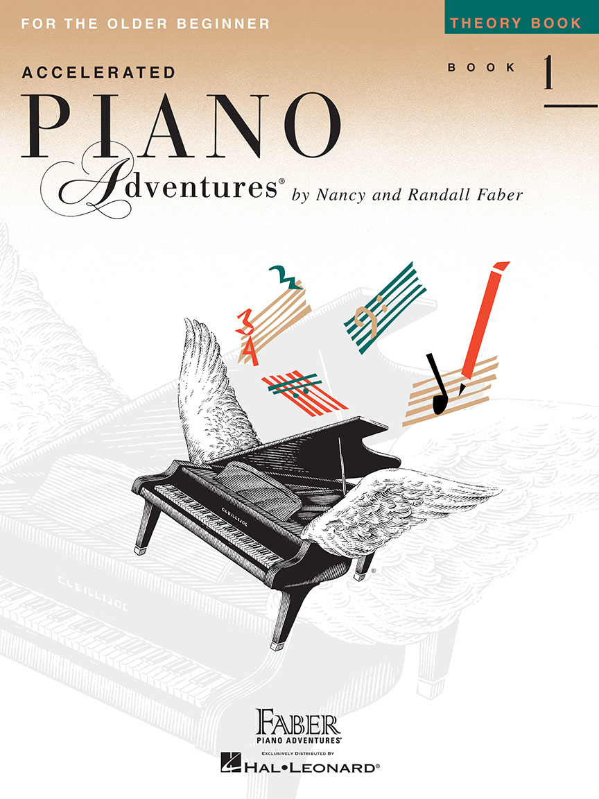 Faber Piano Adventures Faber Accelerated Piano Adventures for the Older Beginner: Theory Book 1