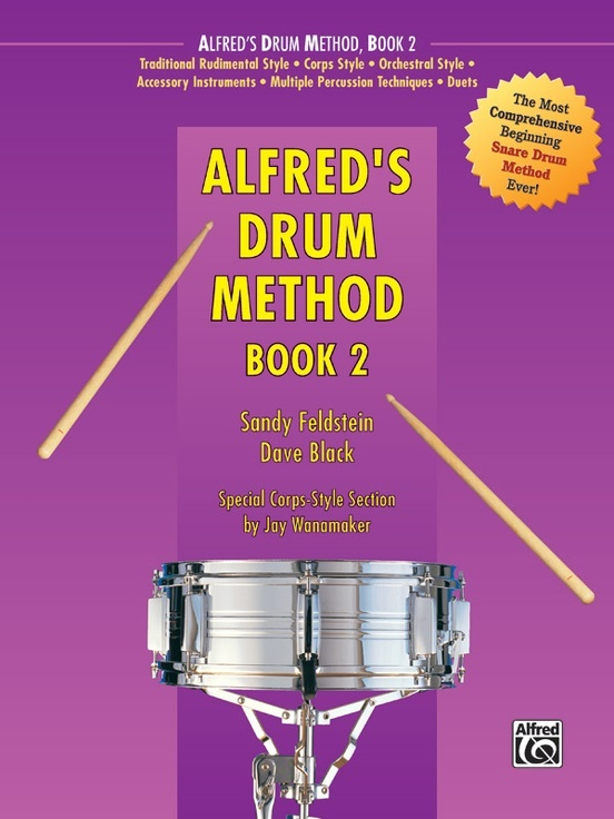 Alfred's Drum Method Book 2