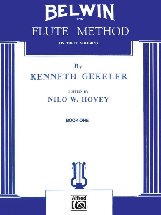 Alfred Belwin Flute Method Book 1