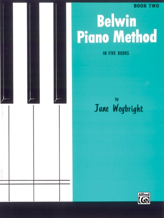 Alfred Belwin Piano Method Book 2