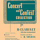 Hal Leonard Concert and Contest Collection for Bb Clarinet