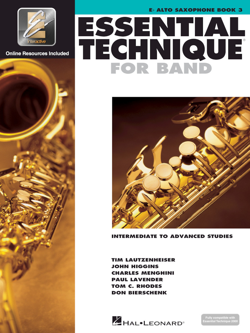 Hal Leonard Essential Technique for Band- Book 3
