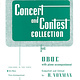 Hal Leonard Concert and Contest Collection for Oboe