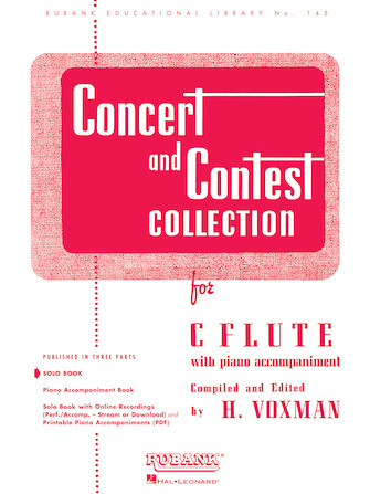 Hal Leonard Concert and Contest Collection for Flute