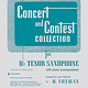Hal Leonard Concert and Contest Collection for Bb Tenor Saxophone