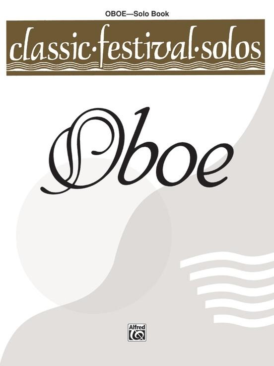 Alfred Classic Festival Solos for Oboe Vol. 1