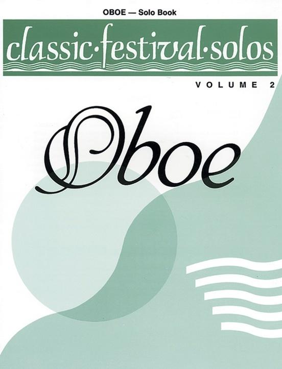 Alfred Classic Festival Solos for Oboe Vol. 2