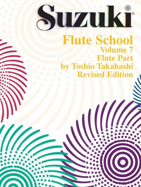 Alfred Suzuki Flute School Volume 7 for Flute or Piano