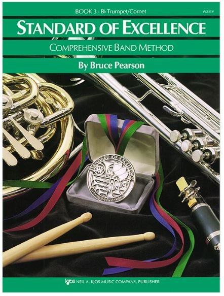 Kjos Standard of Excellence Book 3