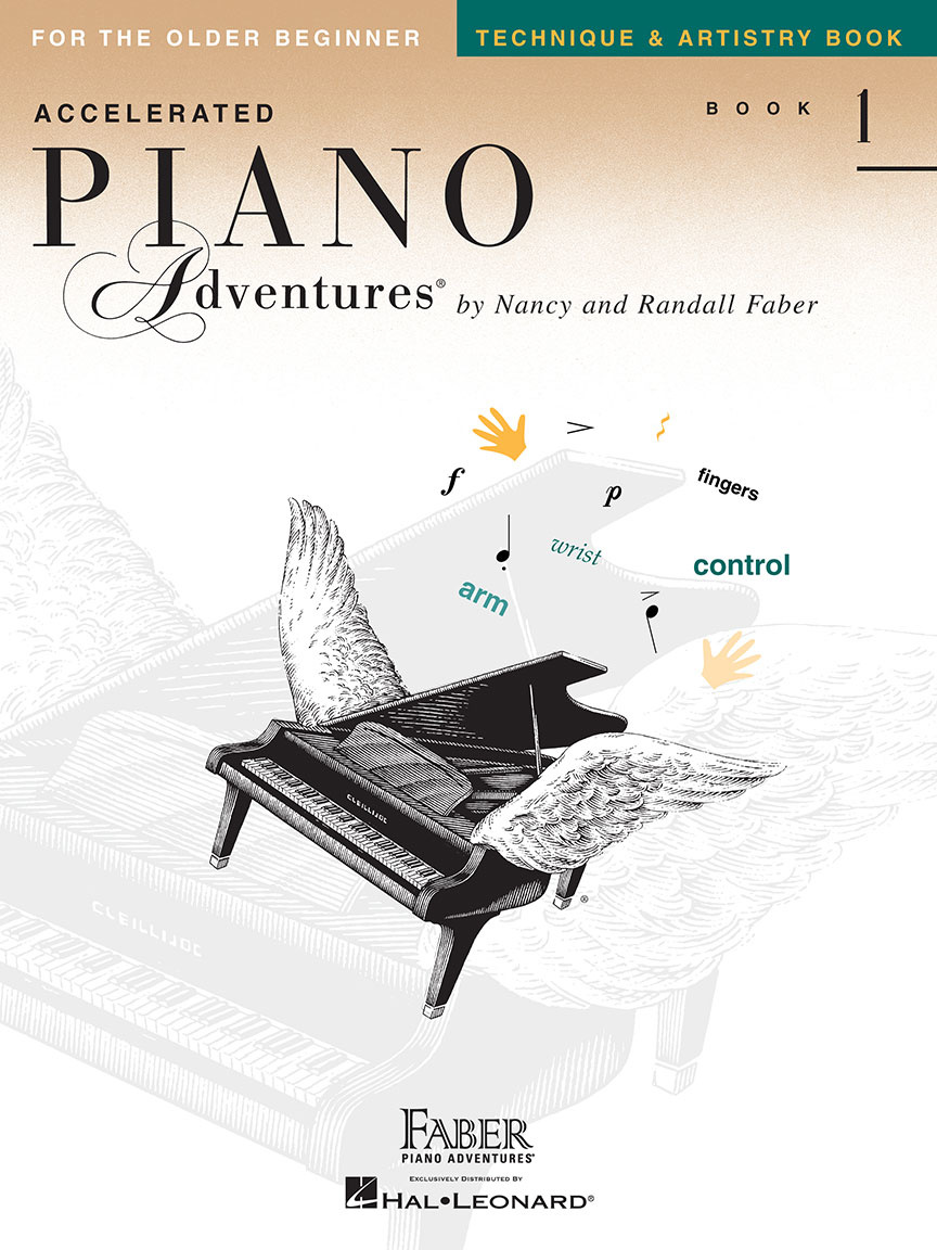 Faber Piano Adventures Accelerated Piano Adventures for the Older Beginner: Book 1
