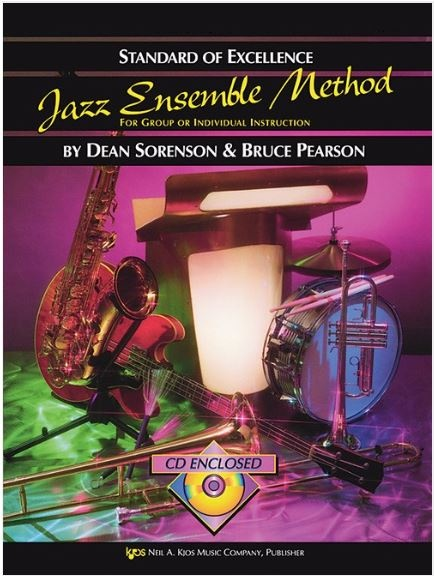 Kjos Standard of Excellence Jazz Ensemble Method