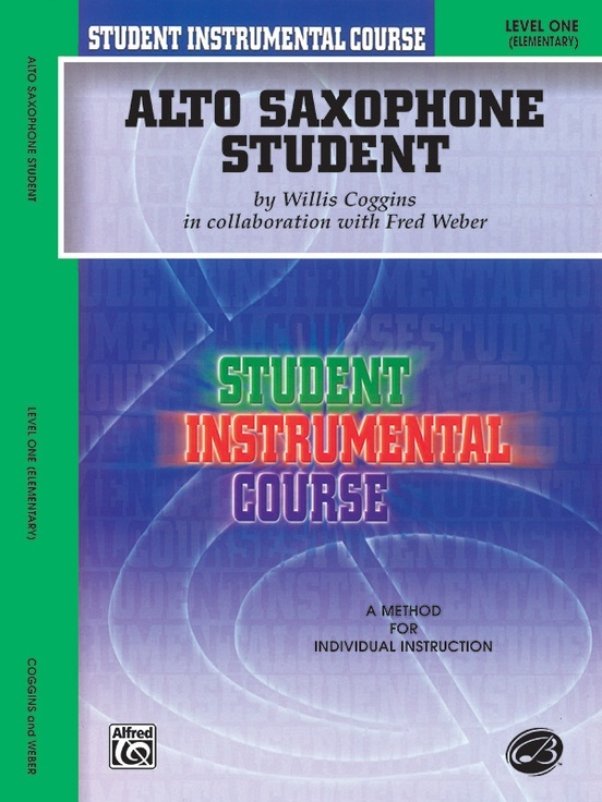 Alfred Alto Saxophone Student