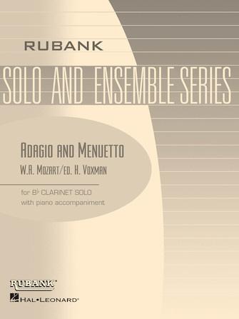 Hal Leonard Mozart Adagio and Menuetto for Bb Clarinet