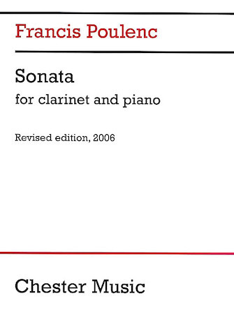 Hal Leonard Poulenc Sonata for Clarinet and Piano
